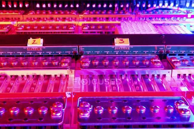 Genome sequencing machine — Stock Photo