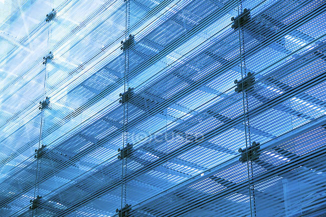 Modern glass building facade — Stock Photo