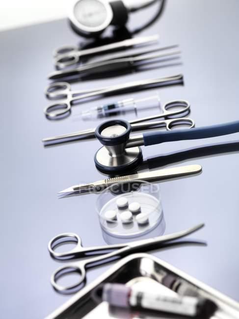 Professional medical equipment — Stock Photo