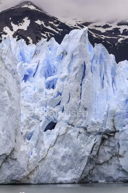 View of the Perito Moreno Glacier, Los Glaciares National Park, Santa Cruz Province, Patagonia, Argentina. — Stock Photo