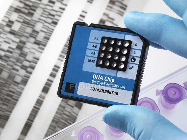 Toolkit di ricerca genetica — Foto stock