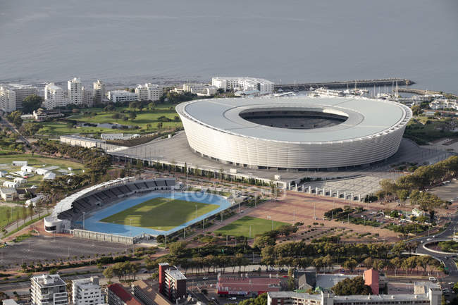 View of Cape Town Stadium in Cape Town, South Africa. — Stock Photo