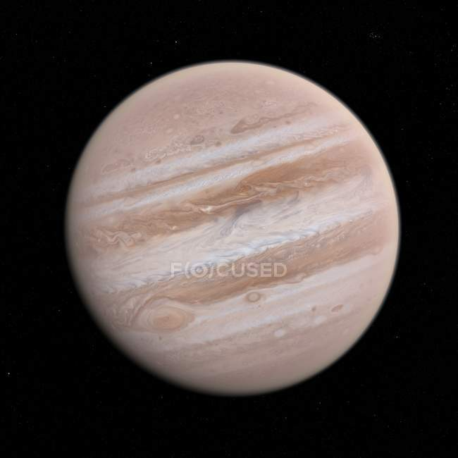 Satellite view of Jupiter — Stock Photo