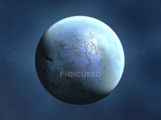 Da terra como planeta alienígena — Fotografia de Stock