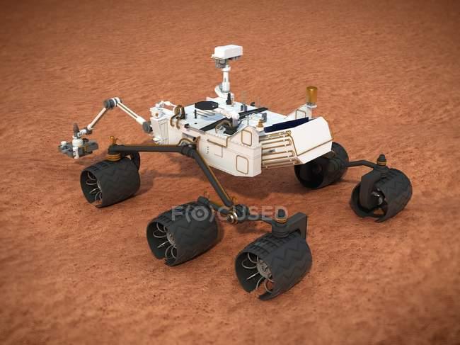 Neugier-Mars-rover — Stockfoto
