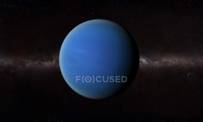 Orbitale vue de surface de Neptune — Photo de stock