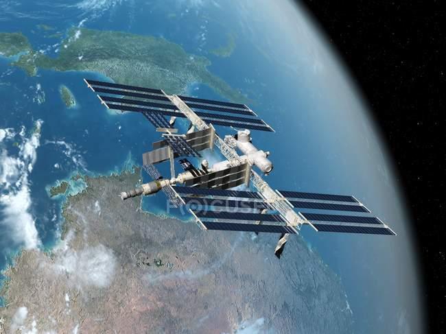 International Space Station — Stock Photo