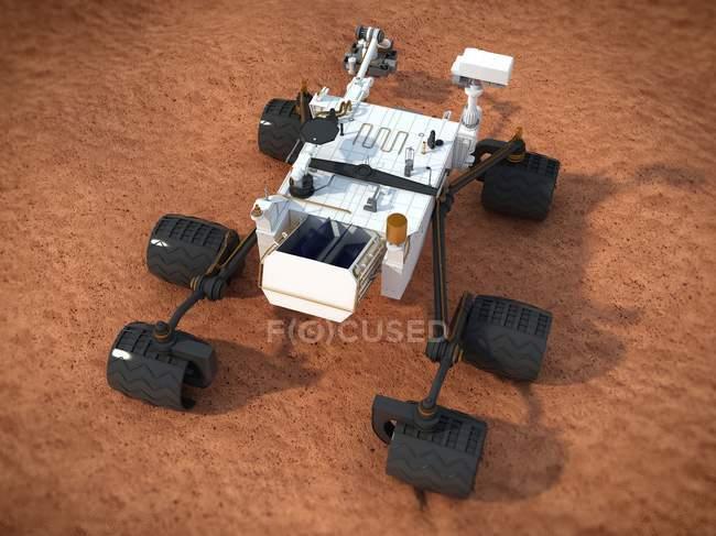 Curiosity Mars rover — Stock Photo