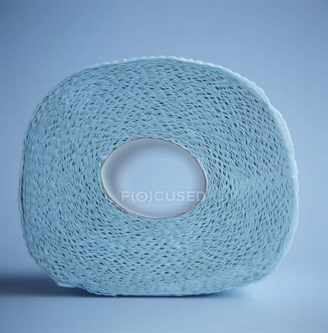 Крупным планом бумажное полотенце ролл вихрь. — стоковое фото