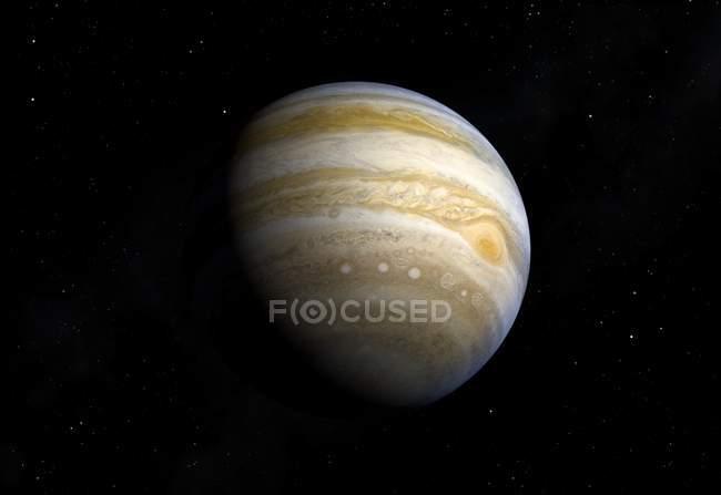 Gas giant Jupiter — Stock Photo