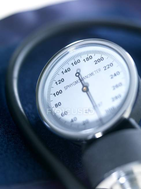 Blood pressure gauge. close-up. — Stock Photo