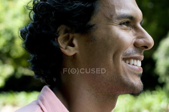 Portrait of mid adult latin man — Stock Photo