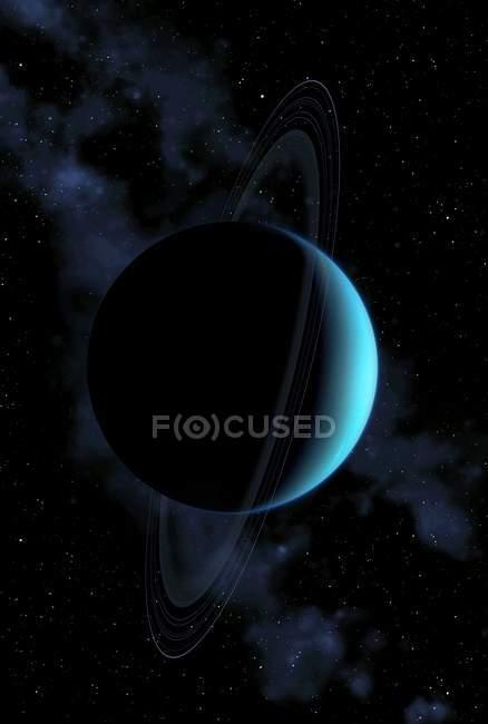 Uranus gas giant — Stock Photo