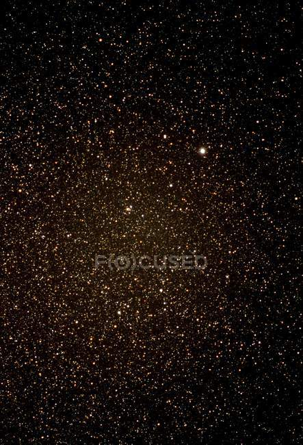 Optical photograph of constellation of Lyra and star Vega. — Stock Photo