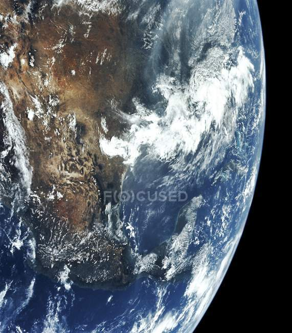 Satellite image of Gulf of Mexico and Pacific Ocean. — Stock Photo