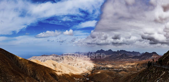 Горные пейзажи, Фуэртевентура, Канарские острова, Испания. — стоковое фото