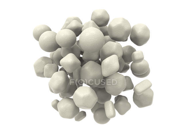 Zinc oxide nanoparticles — Stock Photo