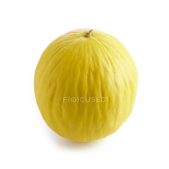 Melão no fundo branco. — Fotografia de Stock