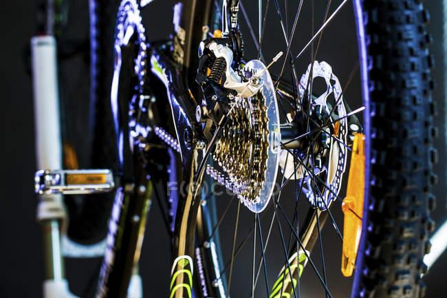 Nahaufnahme von Sportfahrrädern. — Stockfoto