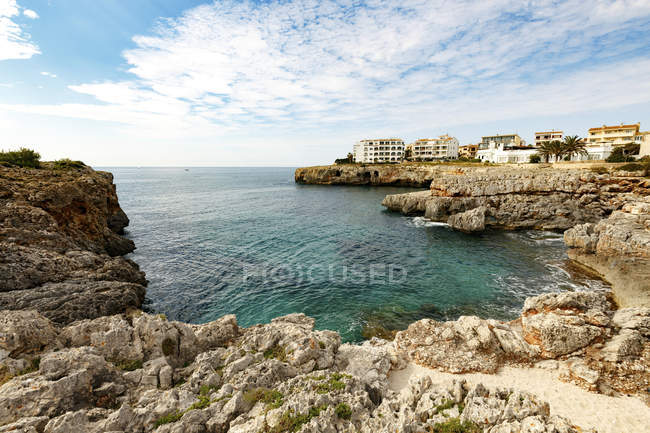 Rocky coastline of Majorca island, Spain. — Stock Photo