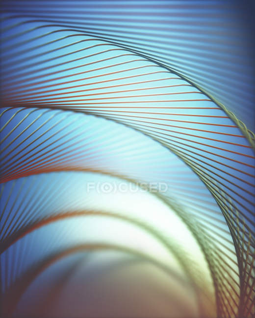 Abstract modern lines and patterns with light, illustration. — Stock Photo