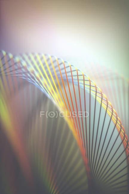 Linhas abstratas modernas e padrões de luz, ilustração. — Fotografia de Stock
