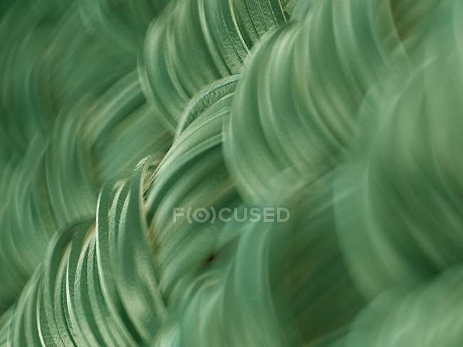 Abstract close-up of green fabric structure, digital illustration. — Stock Photo