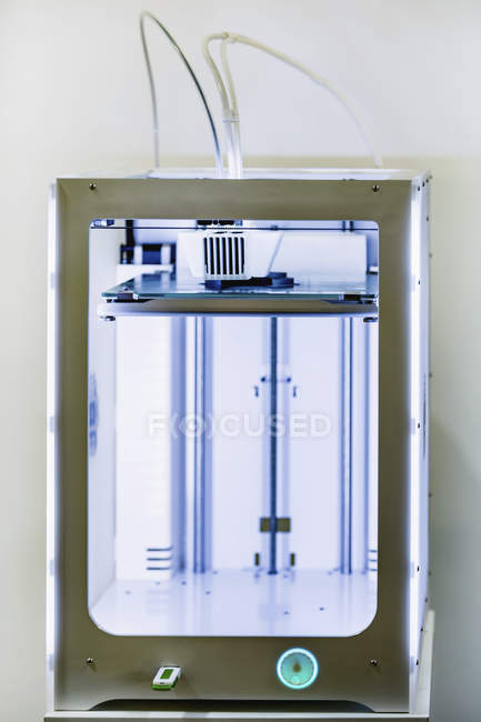 3d printer in modern industrial facility. — Stock Photo