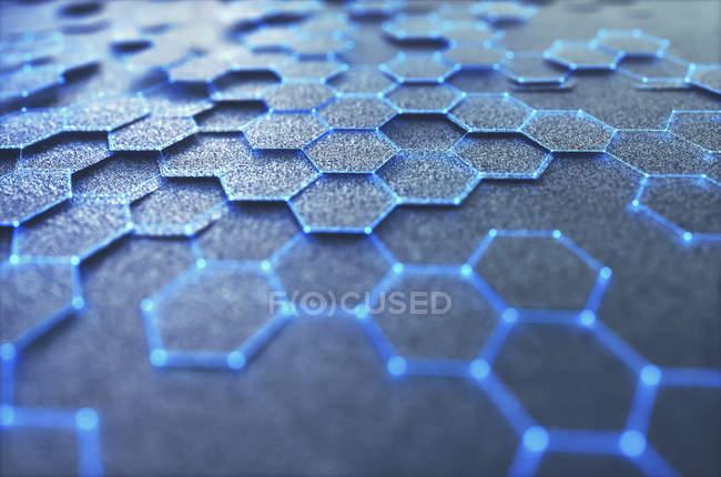 Графический лист, концептуальная цифровая иллюстрация . — стоковое фото