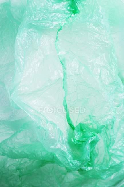 Imagem conceptual da poluição do saco de plástico, frame cheio. — Fotografia de Stock