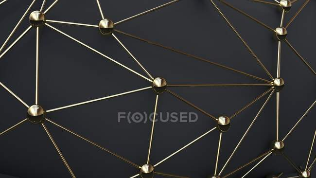 Network, conceptual computer illustration — Stock Photo
