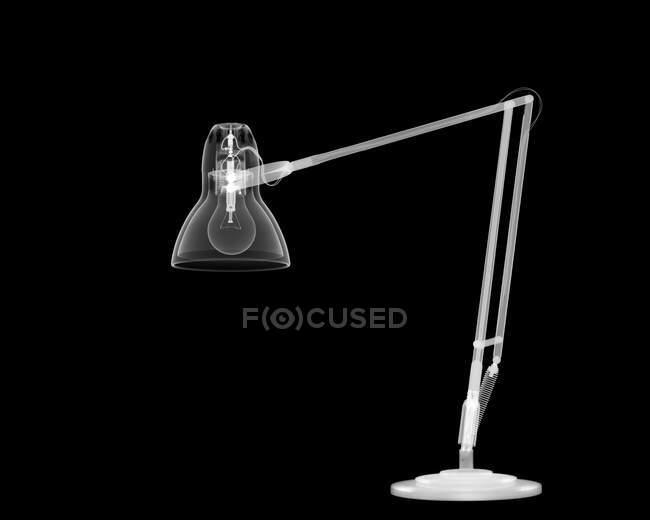Lámpara angular, rayos X. - foto de stock