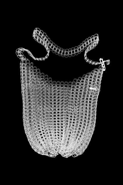 Bottle top bag, X-ray. — Stock Photo
