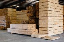 Aus Holz und Holz-Protokolle — Stockfoto