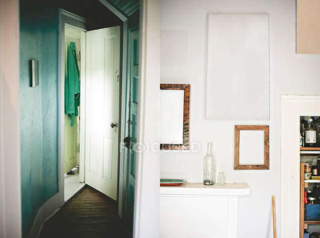 Acogedor interior hogar - foto de stock