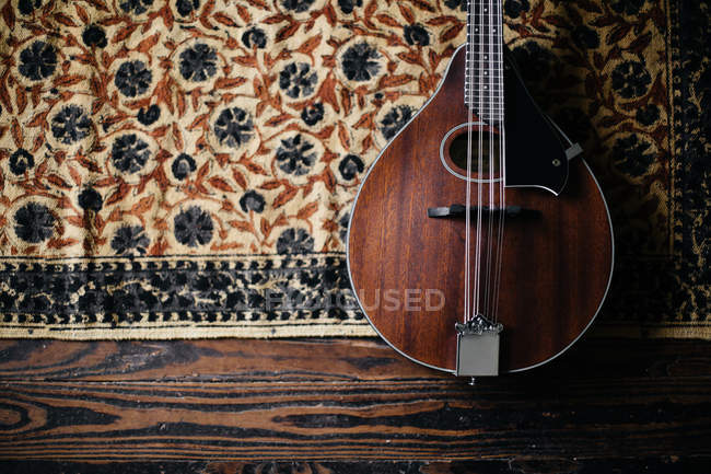 Mandolin musical instrument — Stock Photo