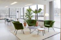 AMSTERDAM, NETHERLANDS - MARCH 6, 2018: Modern office interior. — Stock Photo
