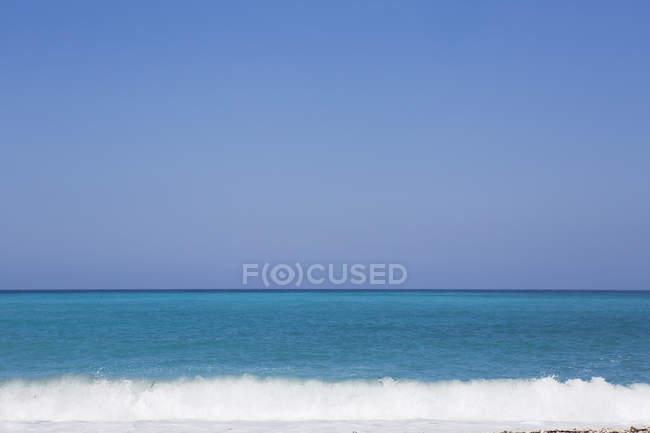 Skyline mit Meeresblick von Kefalonia — Stockfoto