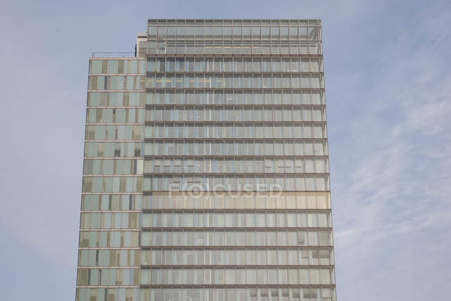 AMSTERDAM, NETHERLANDS - FEBRUARY 9, 2018: Tower of World Trade Center in Zuidas business district — Stock Photo