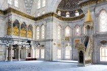 Innendekoration der Nuruosmaniye-Moschee — Stockfoto