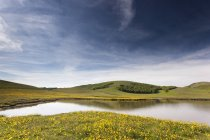 Pantani dos lagos Accumuli — Fotografia de Stock