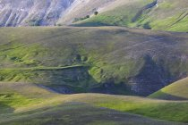 Green appennines meadows — Stock Photo