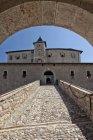 Entrance of Castle Thun — Stock Photo