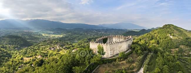 Rock of Asolo castle — Stock Photo