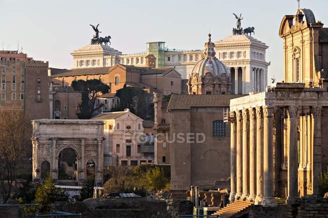 Ruines du Forum romain — Photo de stock