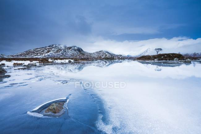 Loch na h-achlaise see — Stockfoto