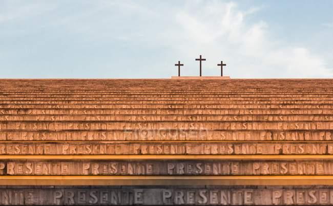 Sacrario militare di Redipuglia — Foto stock