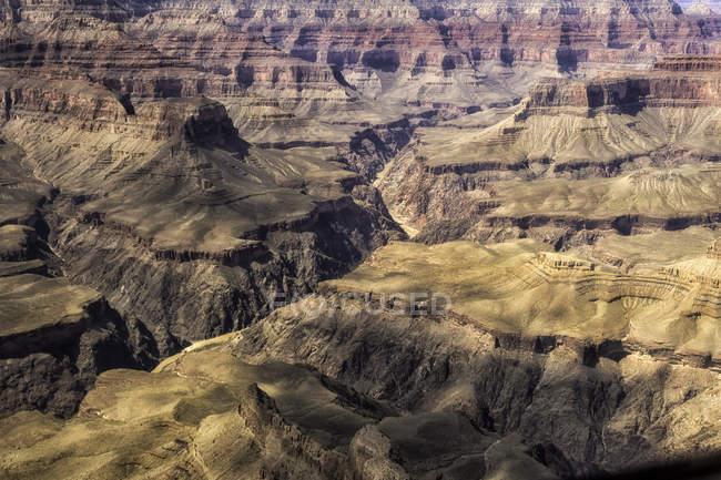 Вертолітний тур в Гранд-Каньйон — стокове фото