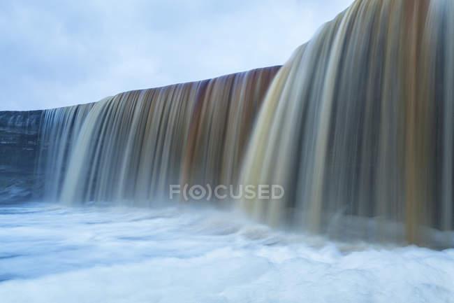 Jgala Waterfal in Northern Estonia — Stock Photo