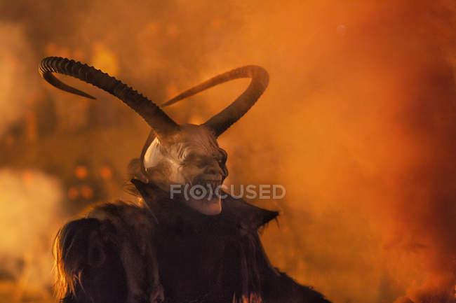 Демон жахливі пароль Реєстрація — стокове фото